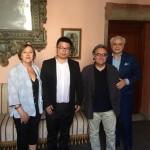 FONDAZIONE FILIPPETTI e RIVERTREE con ACCADEMIA BELLE ARTI BOLOGNA Direttore Enrico Fornaroli e Docente Fashion Rossella Piergallini