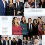 FONDAZIONE FILIPPETTI e RIVERTREE alla festa dell'anniversario della rivista F con l'imprenditore, editore e dirigente sportivo URBANO CAIRO e il Direttore di F MARISA DEIMICHEI