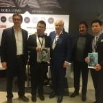 FONDAZIONE FILIPPETTI e RIVERTREE con MEDIAMOND: L'Amministratore Delegato Davide Mondo e il Deputy General Manager Lifestyle Sector Angelo Sacchi
