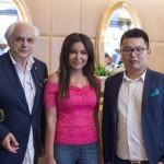 FONDAZIONE FILIPPETTI e RIVERTREE con AMENI SHAFIK Fashion editor di VELVET, rivista degli Emirati Arabi Uniti