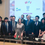 ROMA - Incontro in Senato con la delegazione cinese e politici italiani.