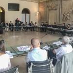 BOLOGNA - Incontro in Comune con l'Assessore Luca Rizzo Nervo e rappresentanti di Confindustria Emilia, Accademia Belle Arti Bologna e Istituto Sant'Orsola