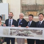 BOLOGNA - Incontro in Comune con l'Assessore Luca Rizzo Nervo e rappresentanti di Confindustria Emilia, Accademia Belle Arti Bologna e Istituto Sant'Orsola.