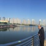 La città di Zhengzhou